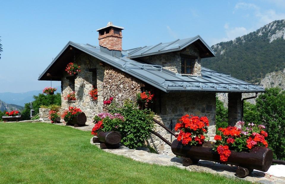 infrapanely s modern - vykurovanie kamenného domu