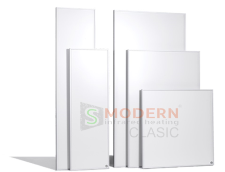 infrapanely smodern clasic biely ram 2