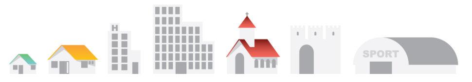 budovy - využitie infravykurovanie
