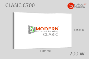 infrapanel smodern clasic C700