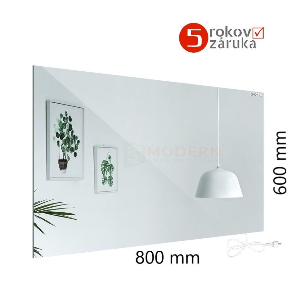 infrapanel-smodern-vykurovacie-zrkadlo-Z450-W rozmery